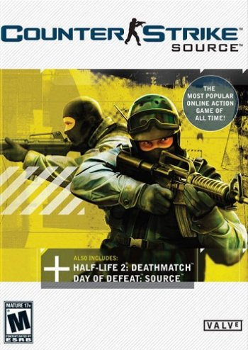 Counter-Strike: Source v34 (2004) PC   RePack by dEf0lT