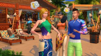 The Sims 4 Жизнь на острове