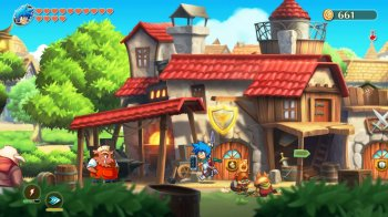 Monster Boy and the Cursed Kingdom (2019) PC   RePack от xatab